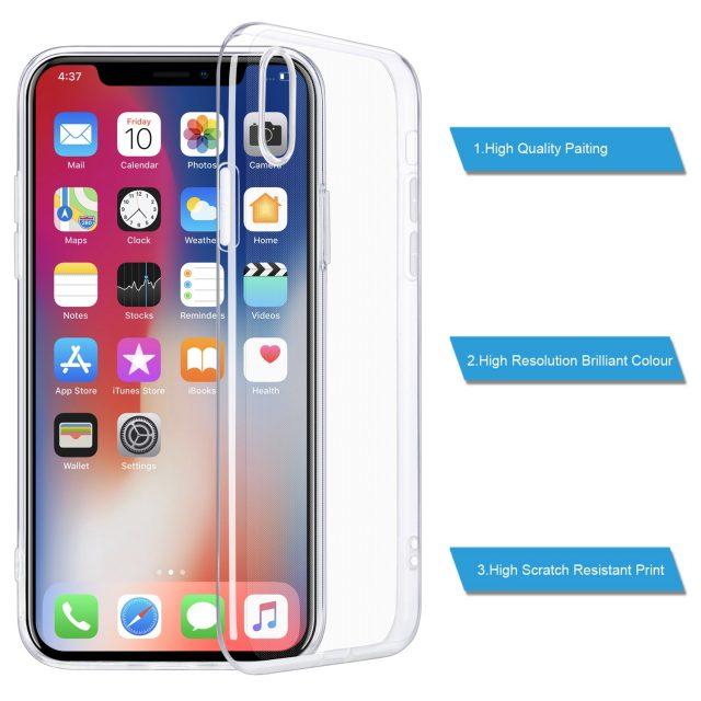 Transparent Phone Case for iPhone
