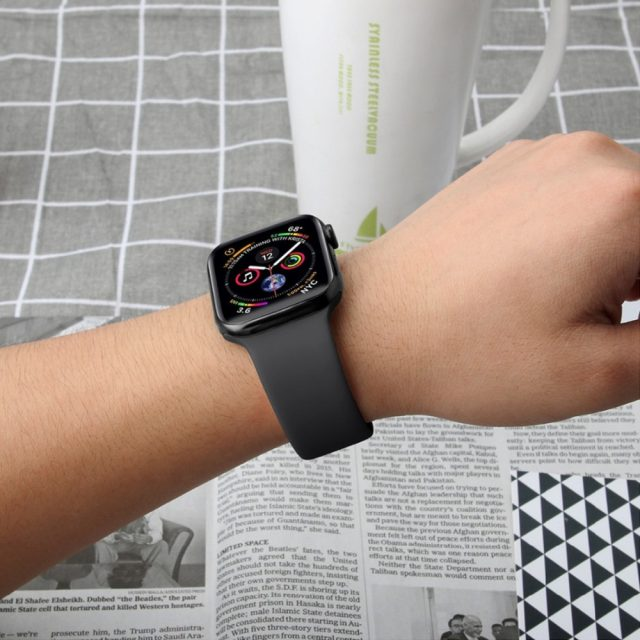 Soft Silicone Band for Apple Watch